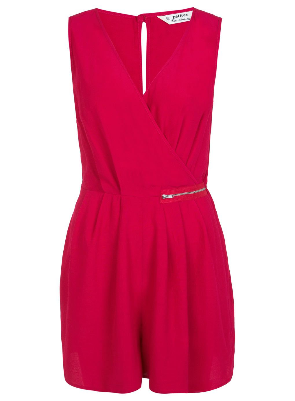 92319ec745d Petites Hot Pink Playsuit - View All - Going Out - Miss Selfridge Europe
