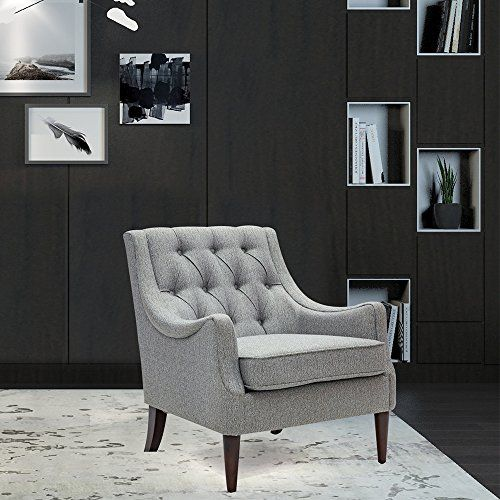living express buttontufted armchair for living room