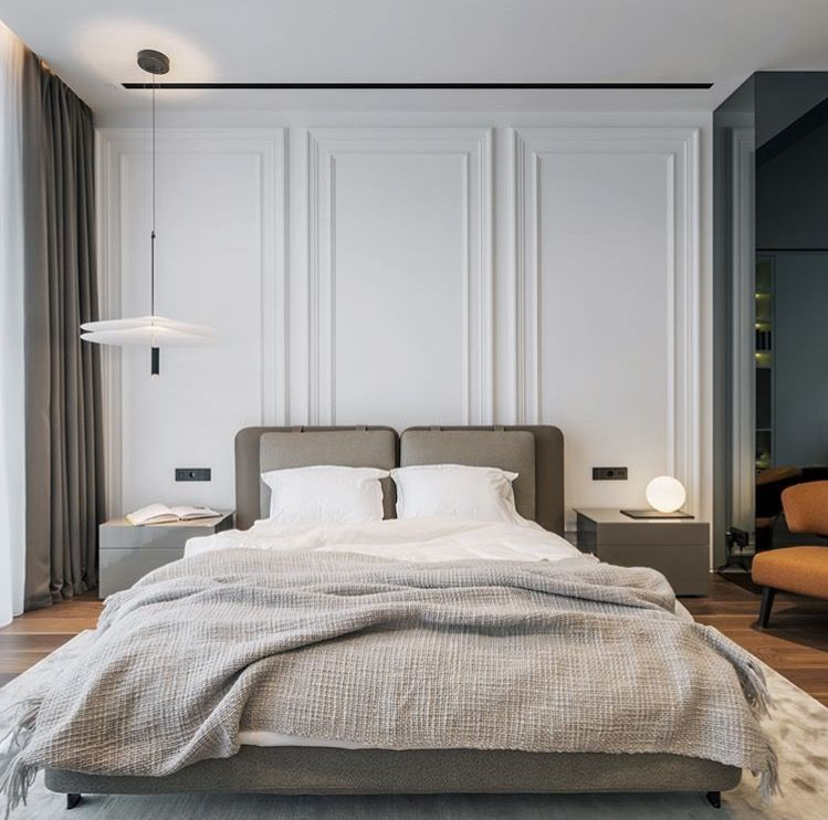 Best Moulding On Back Wall Bedroom Interior Modern Classic 400 x 300