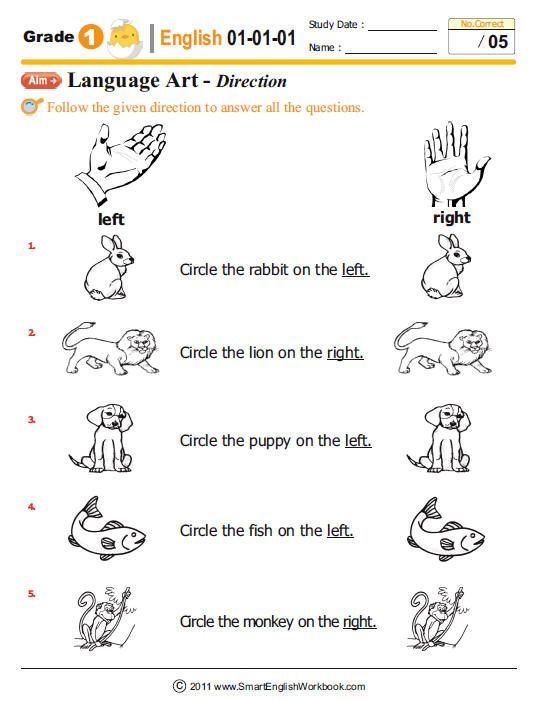 Grade One English Worksheets #2 | tv anntana | Pinterest | English ...