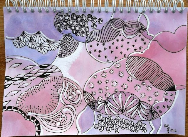 what's in the clouds? ellen wolters' blog - Drawing Practice The Inner World: Journey Journal (diary comments)