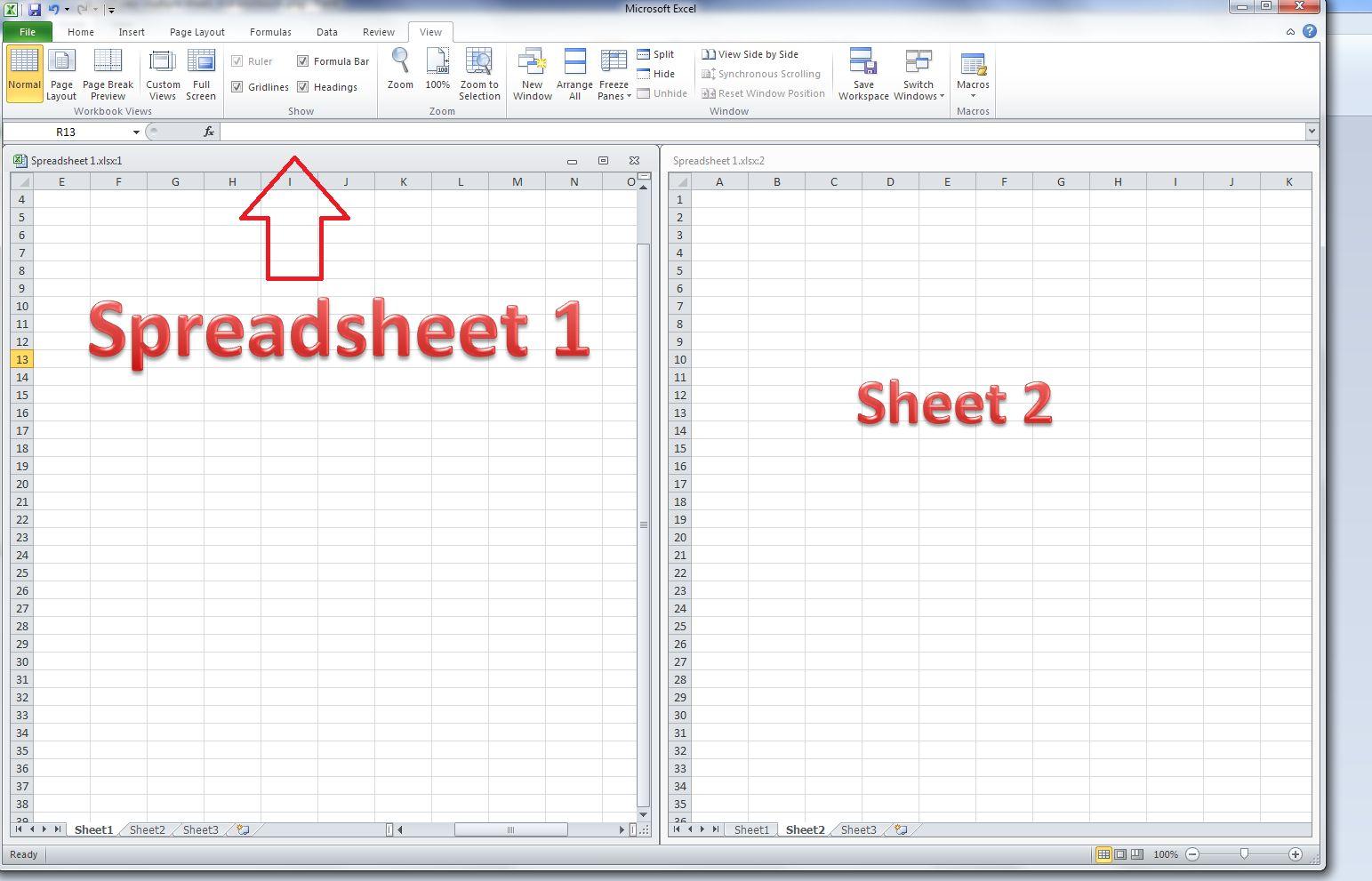 Spreadsheet Workbook