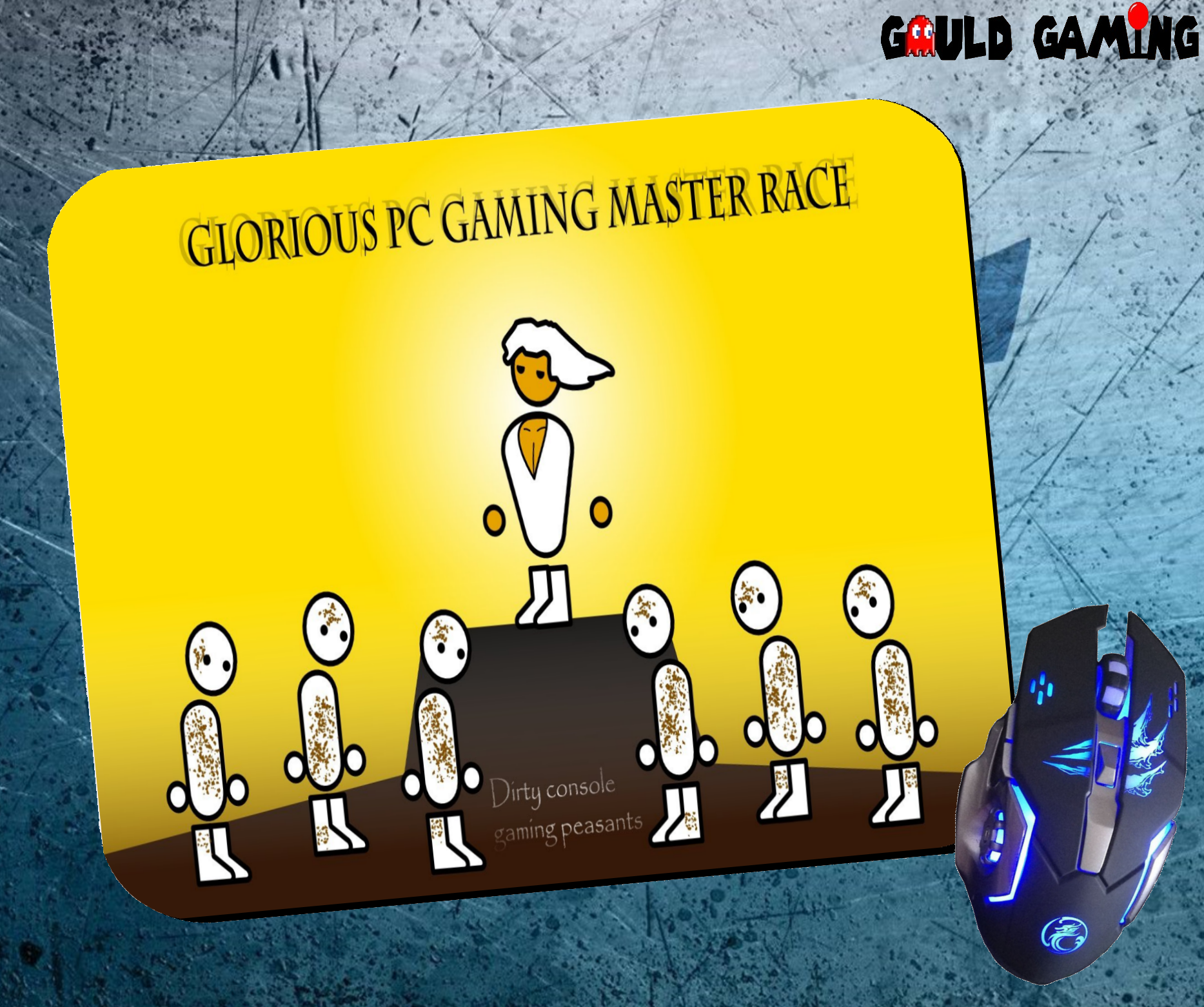 Pc Master Race Mouse Pad For Sale On Our Website Gouldgaming Com Be Sure To Like Us On Facebook Https Www Facebook Com Gamer Gifts Geeky Games Retro Gaming