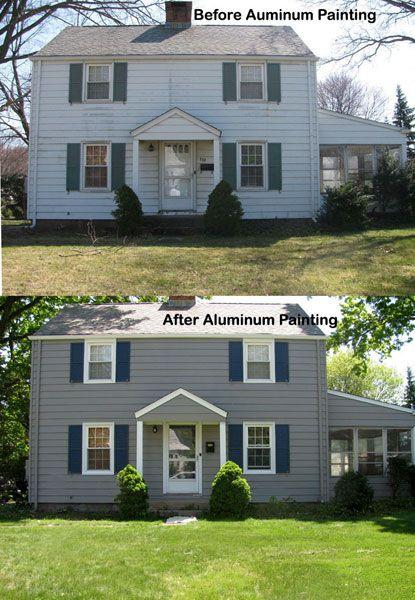 Aluminum Siding Painting 2020 House Paint Exterior