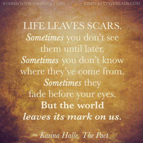 100daysofbookishquotes A Quote On Life From The Pact By Karina