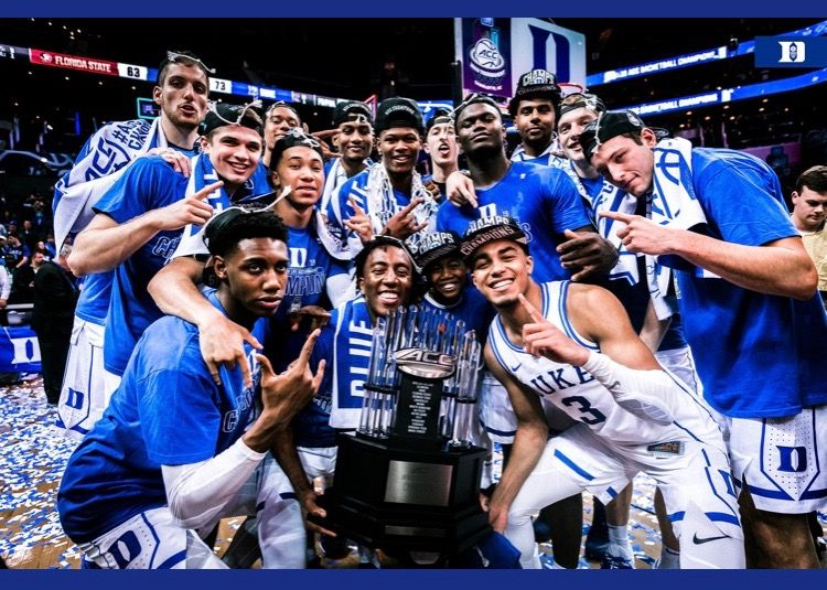 201819 Duke Basketball (With images) Duke basketball