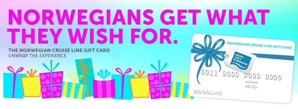 Coupons Giftcards 500 Norwegian Cruise Line Gift Card Coupons
