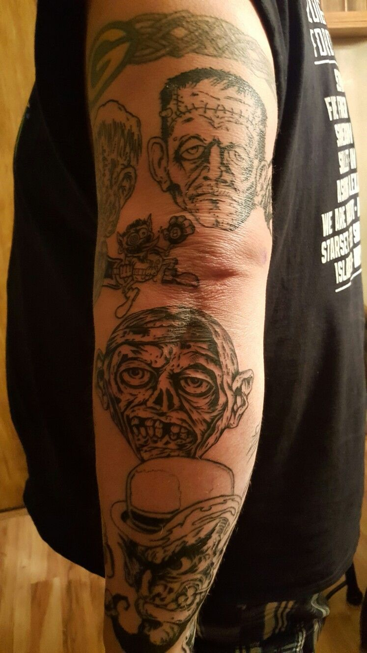 Pin by Craig Norman on Rob Zombie Portrait tattoo