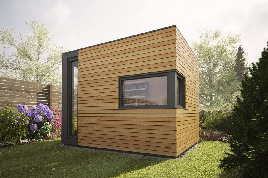 Micro pod max garden studios offices rooms buildings for Outdoor office building
