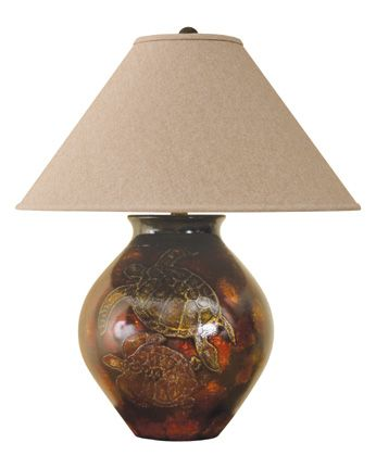 Sea Turtles Table Lamp Beach Lights Turtle Turtle Table Sea