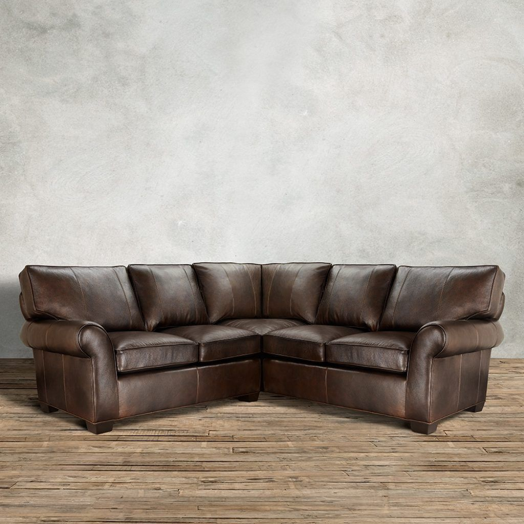 High Quality Brentwood Leather Sofa Arhaus