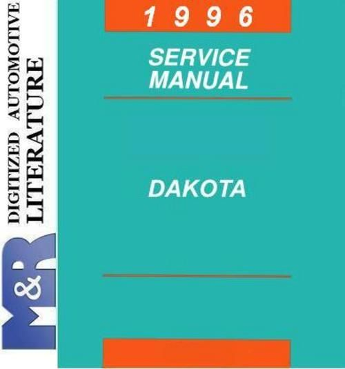 1996 Dodge Dakota An Original Service Manual