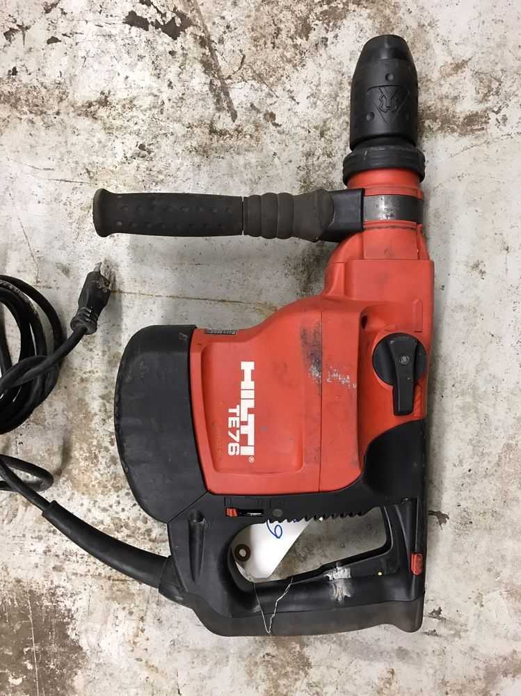 Hilti Hammer Drill Cordless TE-76 | eBay | Tattoo | Pinterest ...