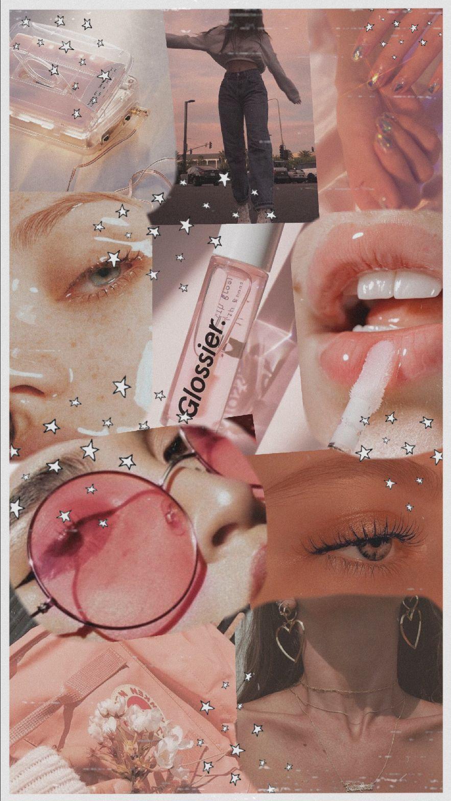 Glossier Beauty Aesthetic Beauty Mood Board Aesthetic