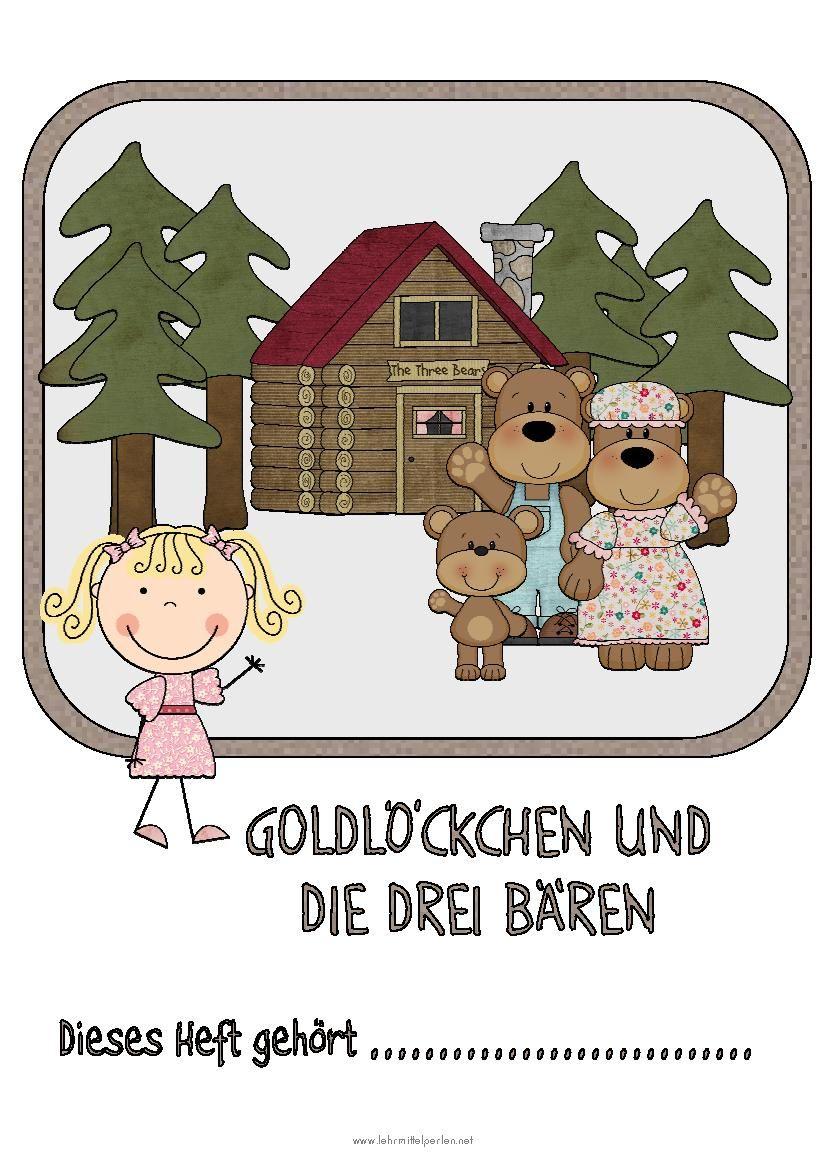 Immer Wieder Gern Marchen Goldlockchen Und Die Drei Baren Leseforderung Deutsche Marchen