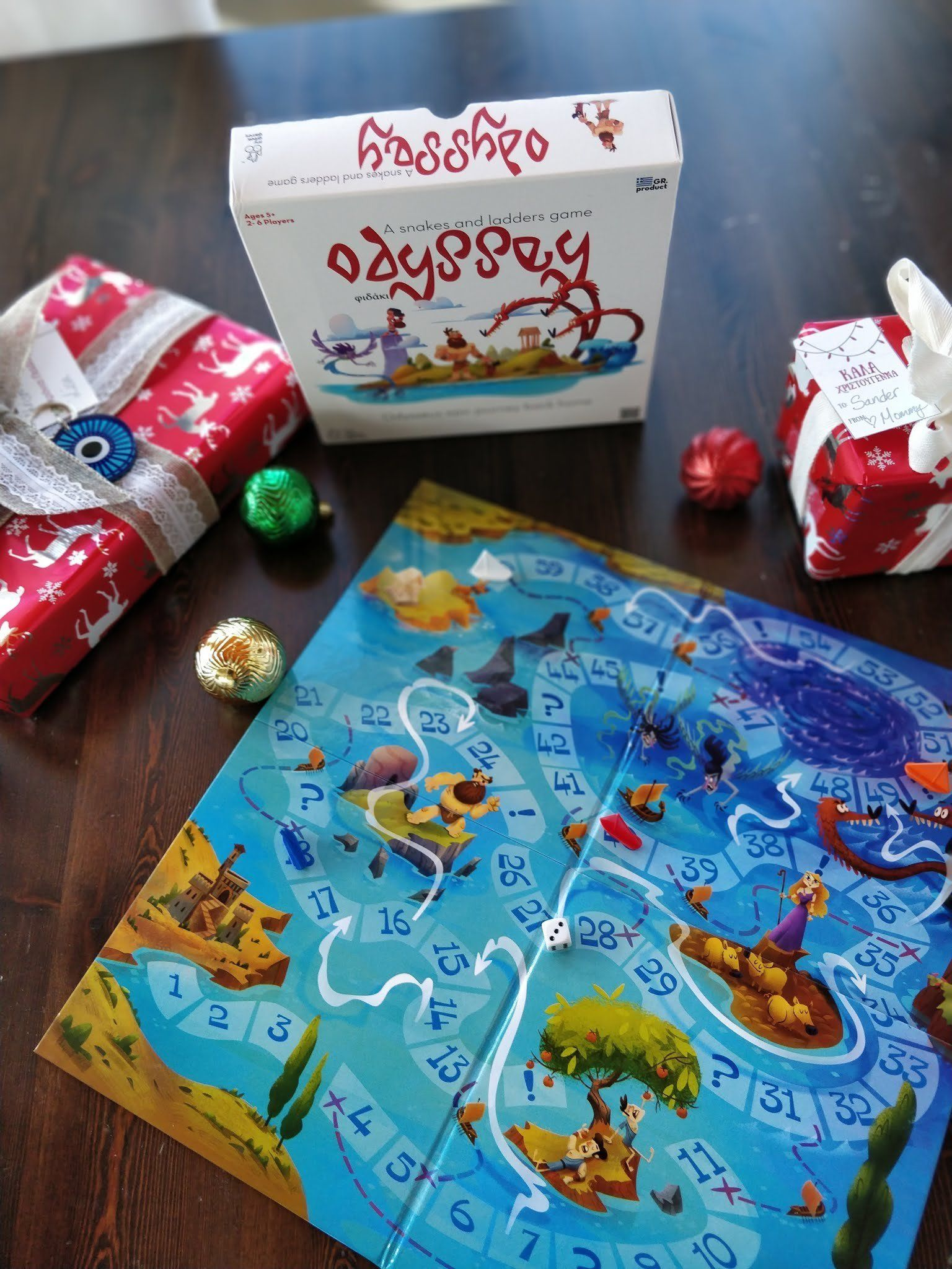 Odyssey: A Snakes and Ladders Game | Products | Games, Board games