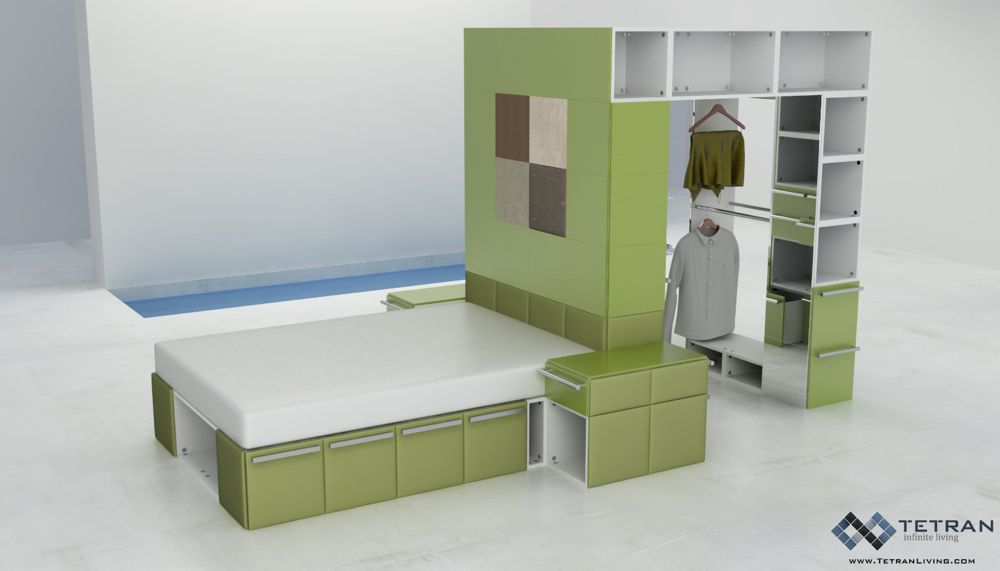 Cool Modular Furniture Awesome Rooms Items Pinterest - Design your own furniture with tetran eco friendly modular cubes