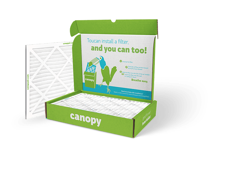 Canopy Air How to plan, Filters, Canopy