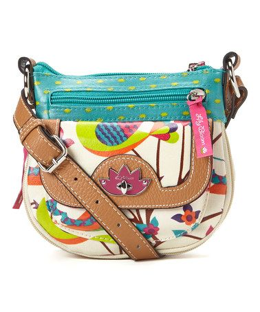 Another great find on #zulily! Tweety Twig Mini Pouch Crossbody Bag by Lily Bloom #zulilyfinds