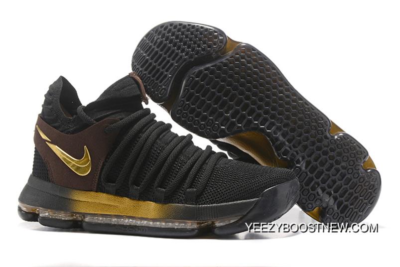 Copuon Nike KD 10 Black Gold | Nike