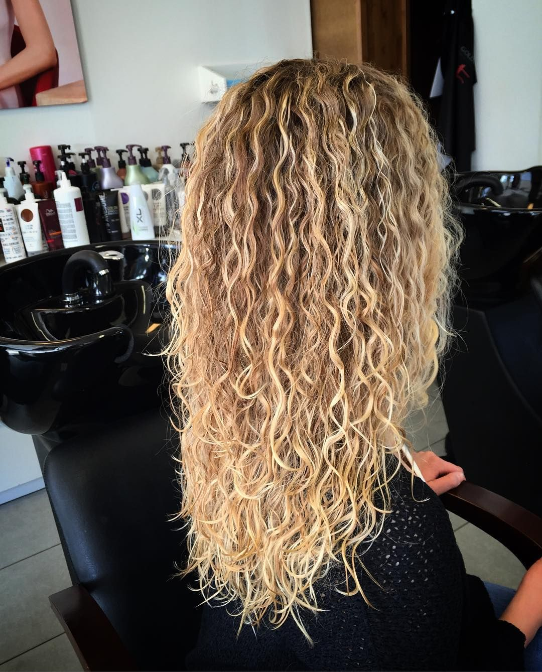 Straight perm for curly hair - 50 Trendy Perm Styles From Spiral And Curly To Wave And Straight