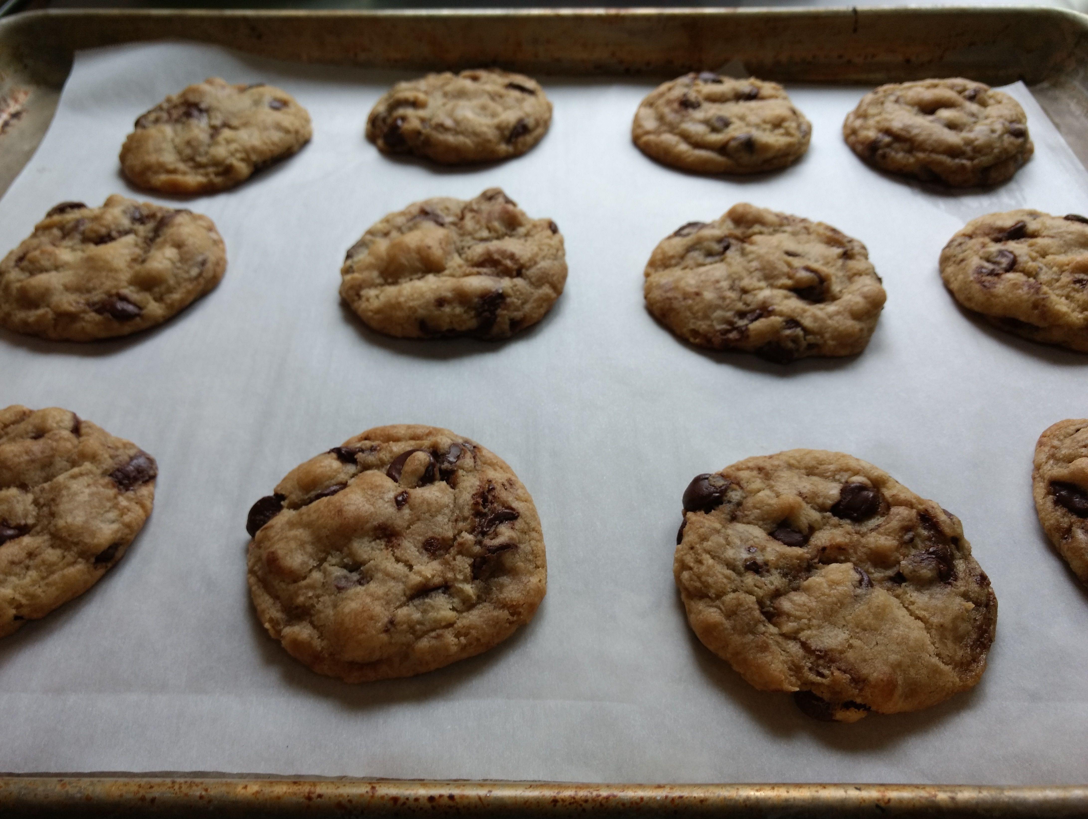 Vegan Salted Chocolate Chip Cookies Recipe Salted Chocolate Chip Cookies Recipes Vegan Chocolate Chip Cookies Coconut Oil Salted Chocolate Chip Cookies