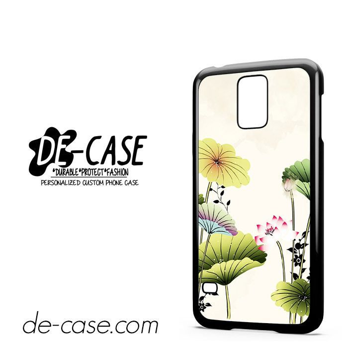 Vinteage Lotus Flower DEAL-11746 Samsung Phonecase Cover For Samsung Galaxy S5 / S5 Mini