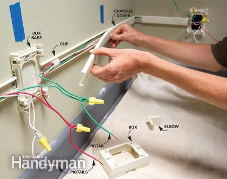 Magnificent How To Add Outlets Easily With Surface Wiring 2505 House Wiring Wiring 101 Capemaxxcnl