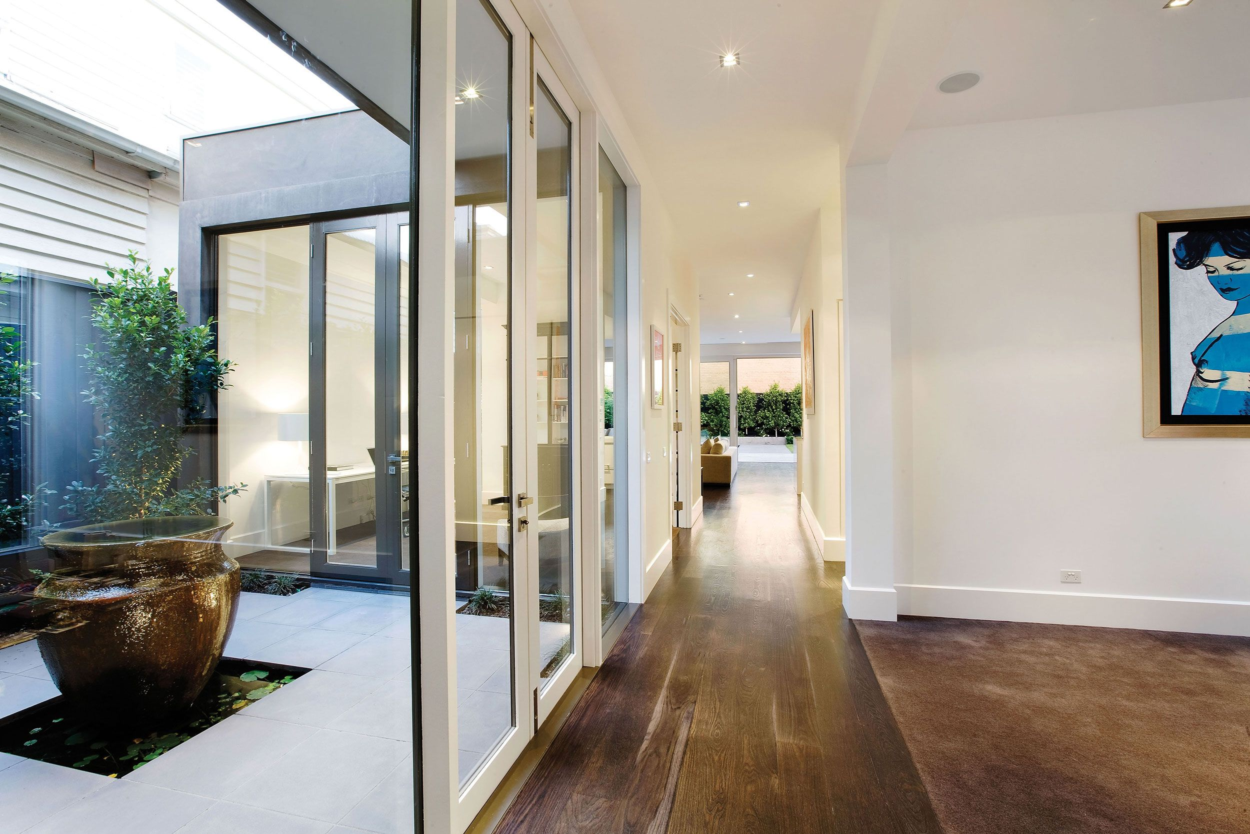 Floor for study armadale homes by canny custom home builders of contemporary and architecturally designed also light well new house pinterest open plan rh