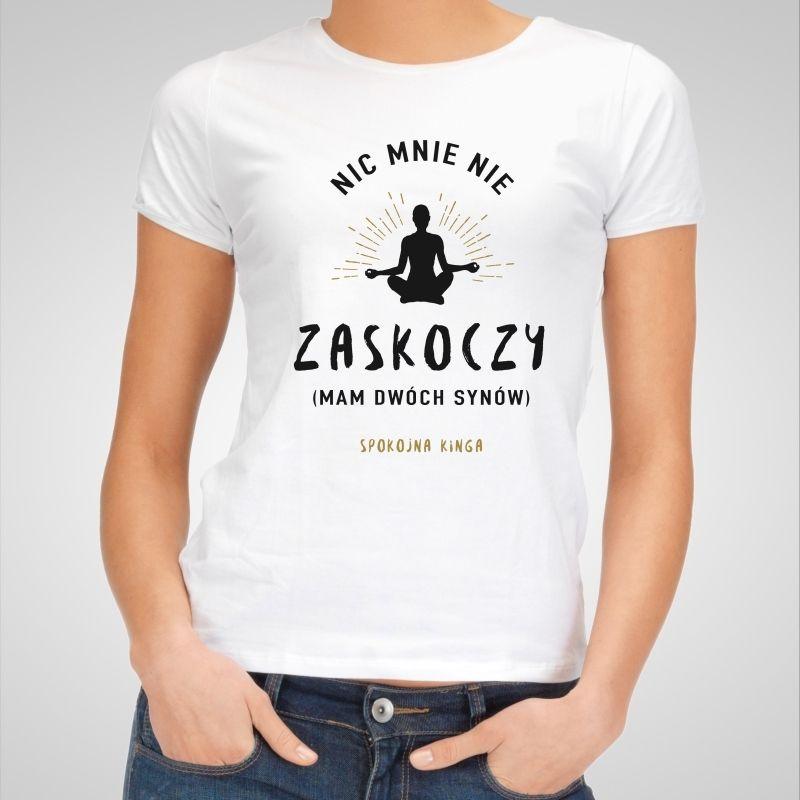 Koszulka Personalizowana Damska Zaskoczenie Mens Tops Mens Tshirts Women