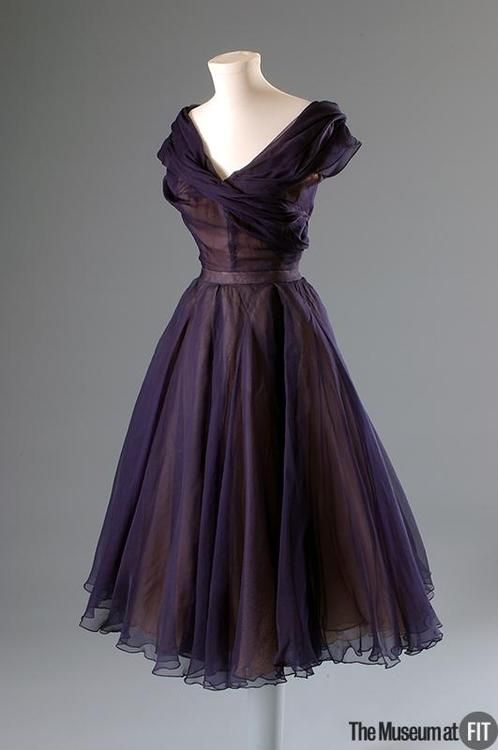 Dress - Christian Dior, 1950 - The Museum at FIT | Costume History ...