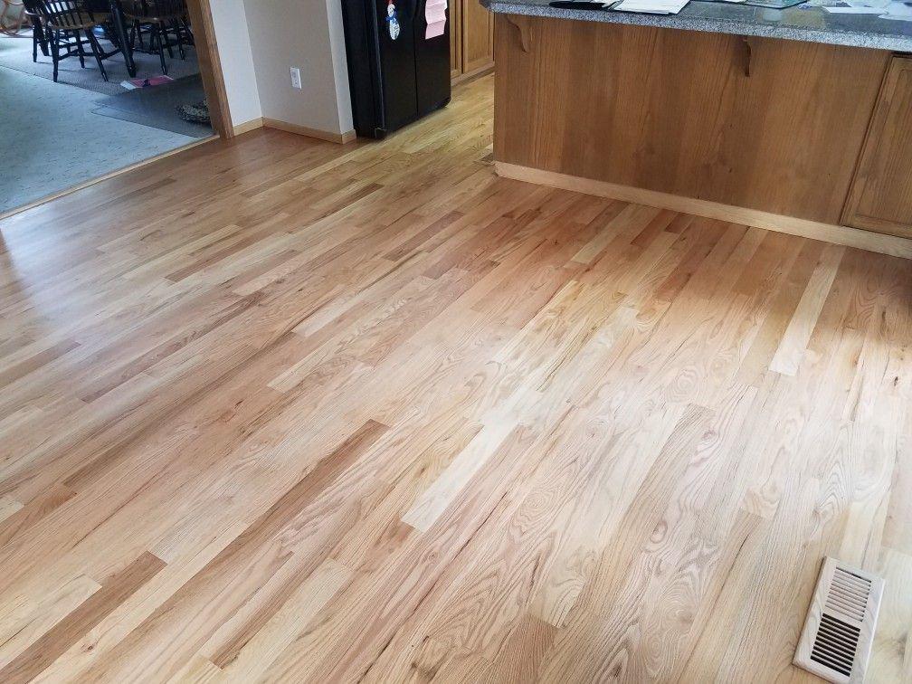 2 1 4 Red Oak Hardwood Sanded Sealed And Finished By Mid Valley Hardwood Llc Battle Ground Wa 98604 Sealer Use Red Oak Hardwood Red Oak Floors Oak Floors
