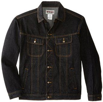 0fdb81f95 Wrangler Men's Big & Tall Unlined Denim Jacket at Amazon Men's ...