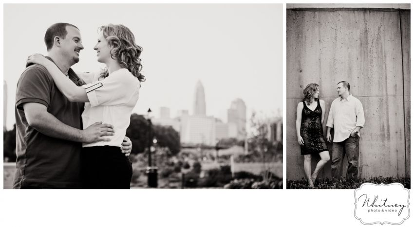 whitneyphoto.com - Greenway - Engagement Session - Skyline