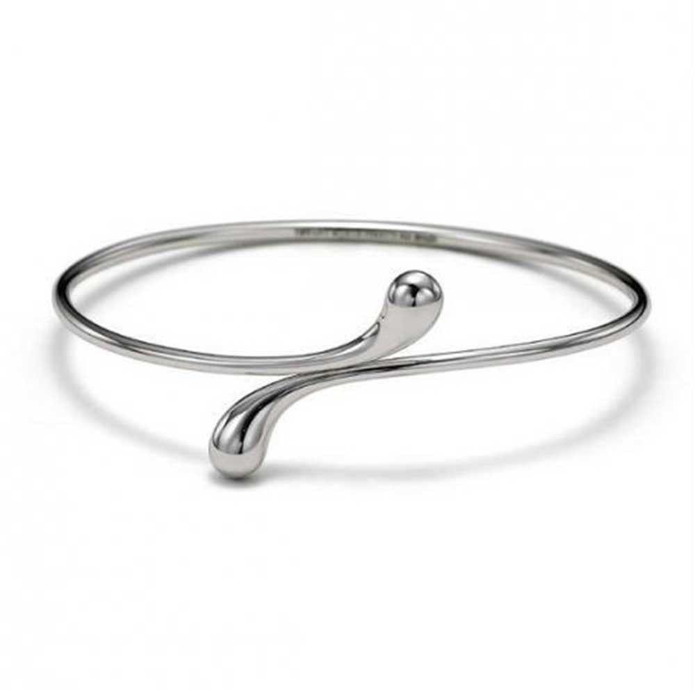 2c4c0c753ab15 Bypass Teardrop Bangle Bracelet For Women For Girlfriend High ...