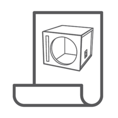 Dual 12 Inch VENTED Subwoofer Box Design in 2020