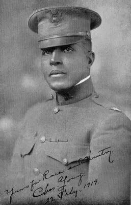 Col. Charles Young.....from slave to Colonel!