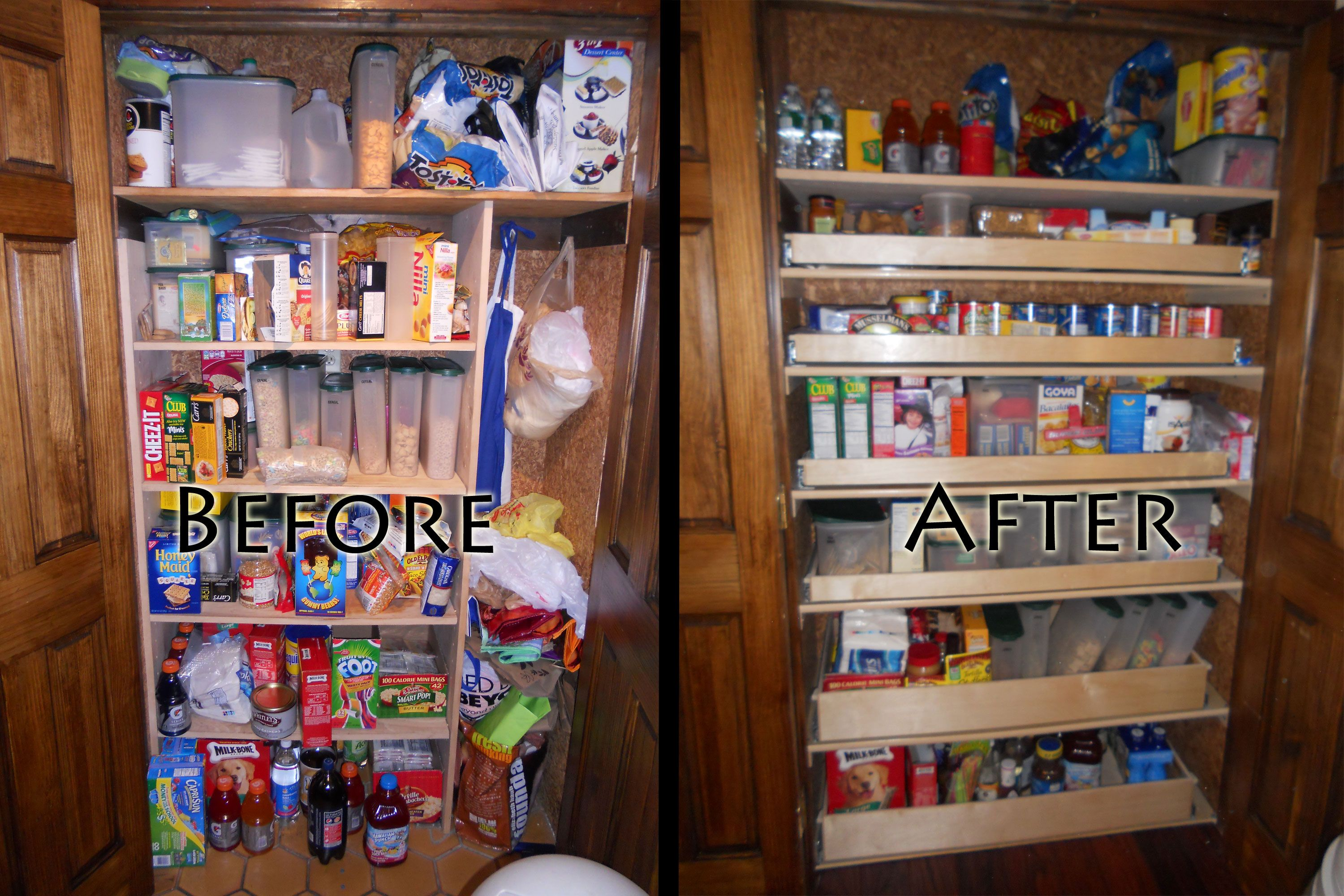 Pantry Shelves Looking A Little Anemic? Not After We Get