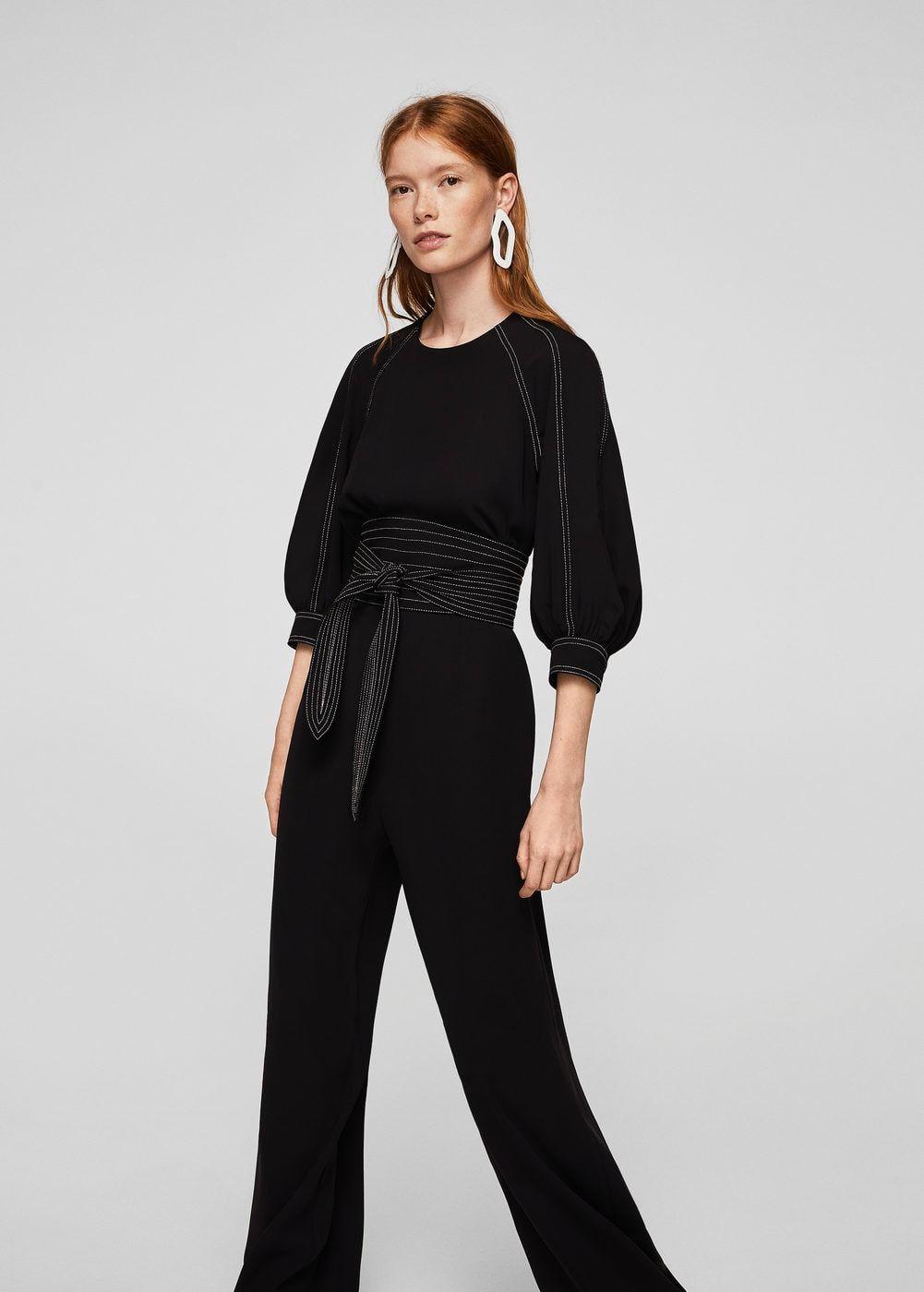 f9c5aaca265 Contrast seam jumpsuit - Women in 2019