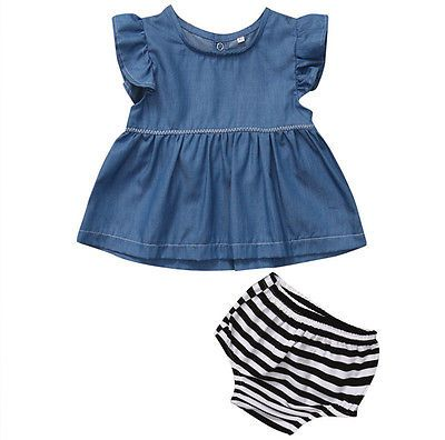 cba53859e Click to Buy    2017 Hot 2pcs Newborn Kids Baby Boys Girls Outfits ...
