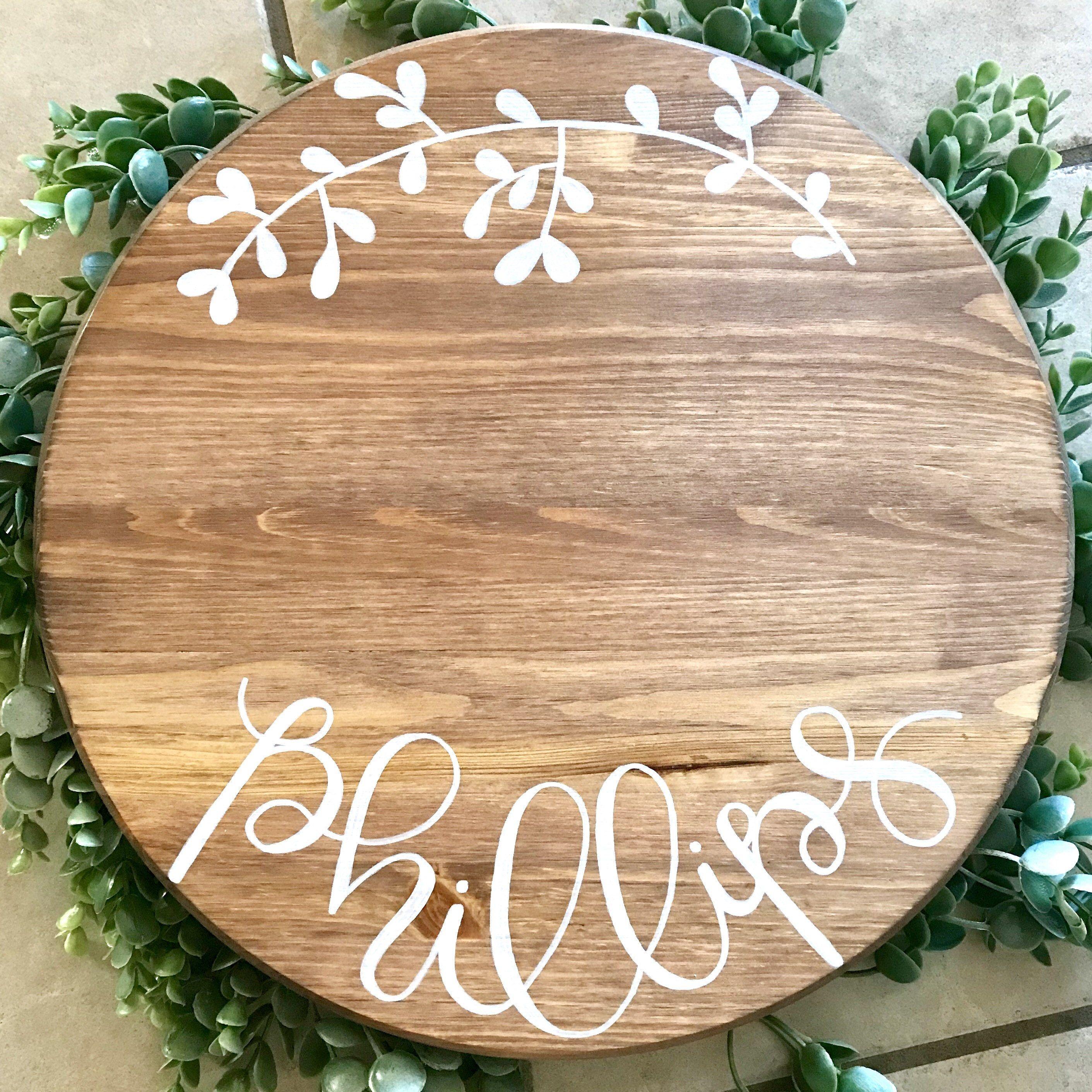 Custom lazy susan or tray kitchen tray rustic decorative
