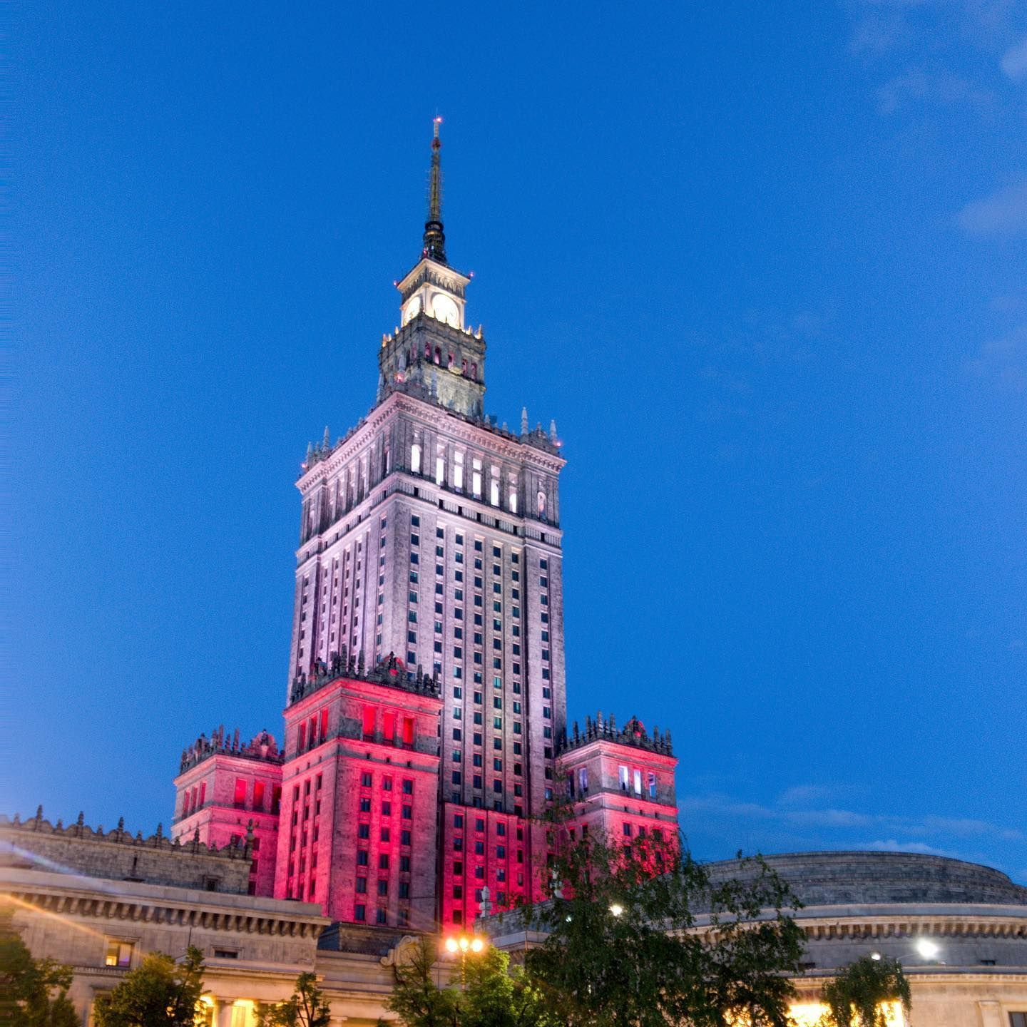 It might be closed but it still looks great. #warsaw #poland