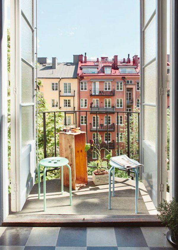 Amenager Et Decorer Un Petit Balcon Avec Succes Toutes Nos Idees
