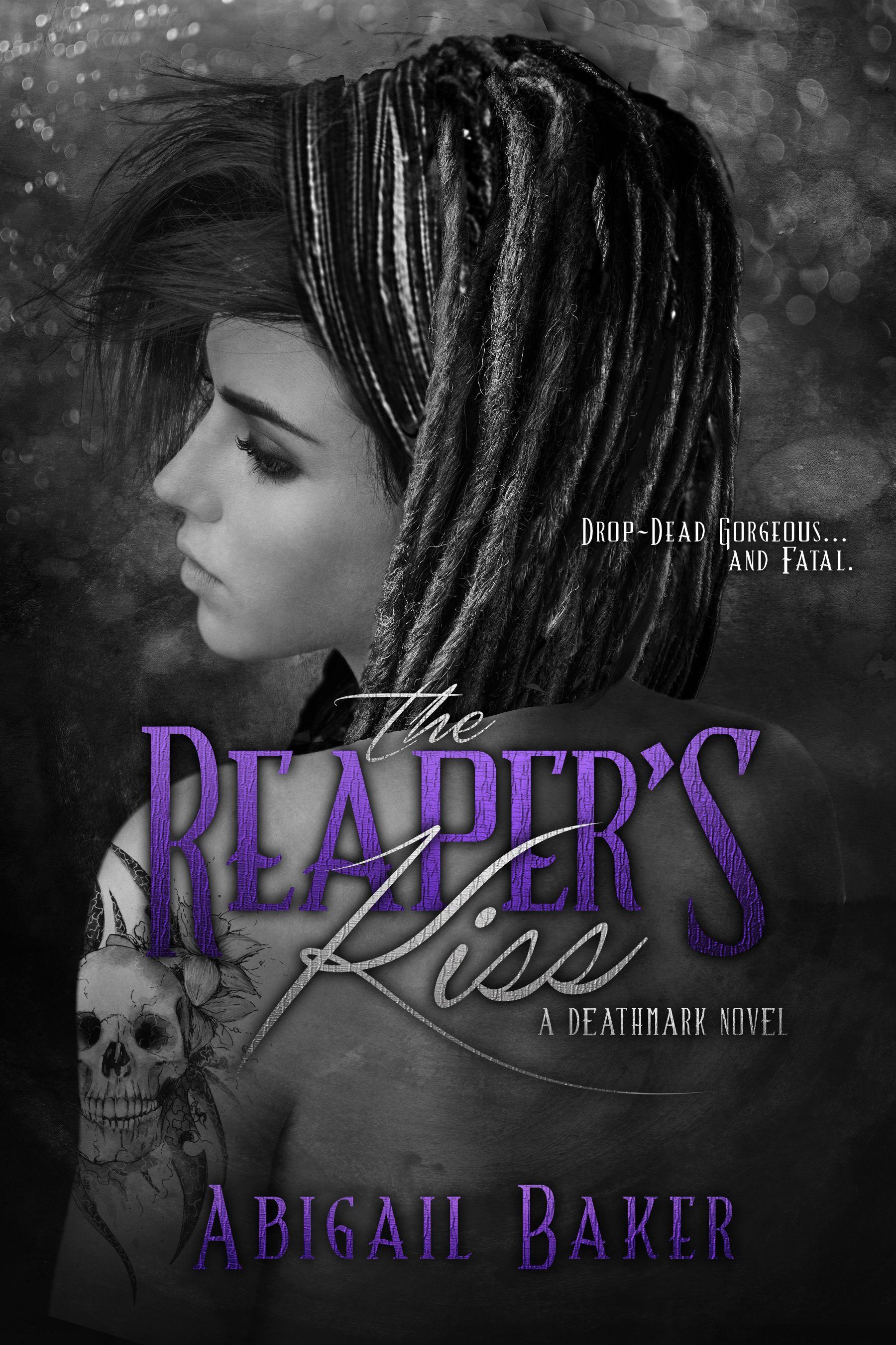 Title: The Reaper's Kiss Author: Abigail Baker Release date: August 25th 2015 Publisher: Entangled Genre: Paranormal, Romance, Fantasy Book Description: Drop-dead gorgeous…and fatal. Ollie Dormier'...