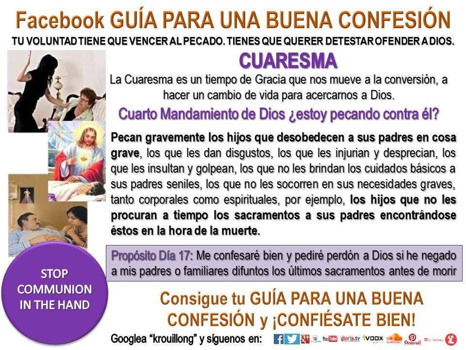 cuaresma guia para una buena confesion krouillong pecados capitales krouillong comunion en la mano es sacrilegio stop communion in the hand