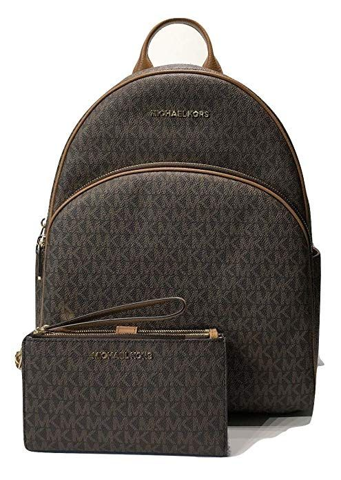 e3599d7866c6 MICHAEL Michael Kors Abbey Large Backpack bundled with Michael Kors Jet Set  Travel Double Zip Wallet Wristlet #Michael Kors #Women's handbag