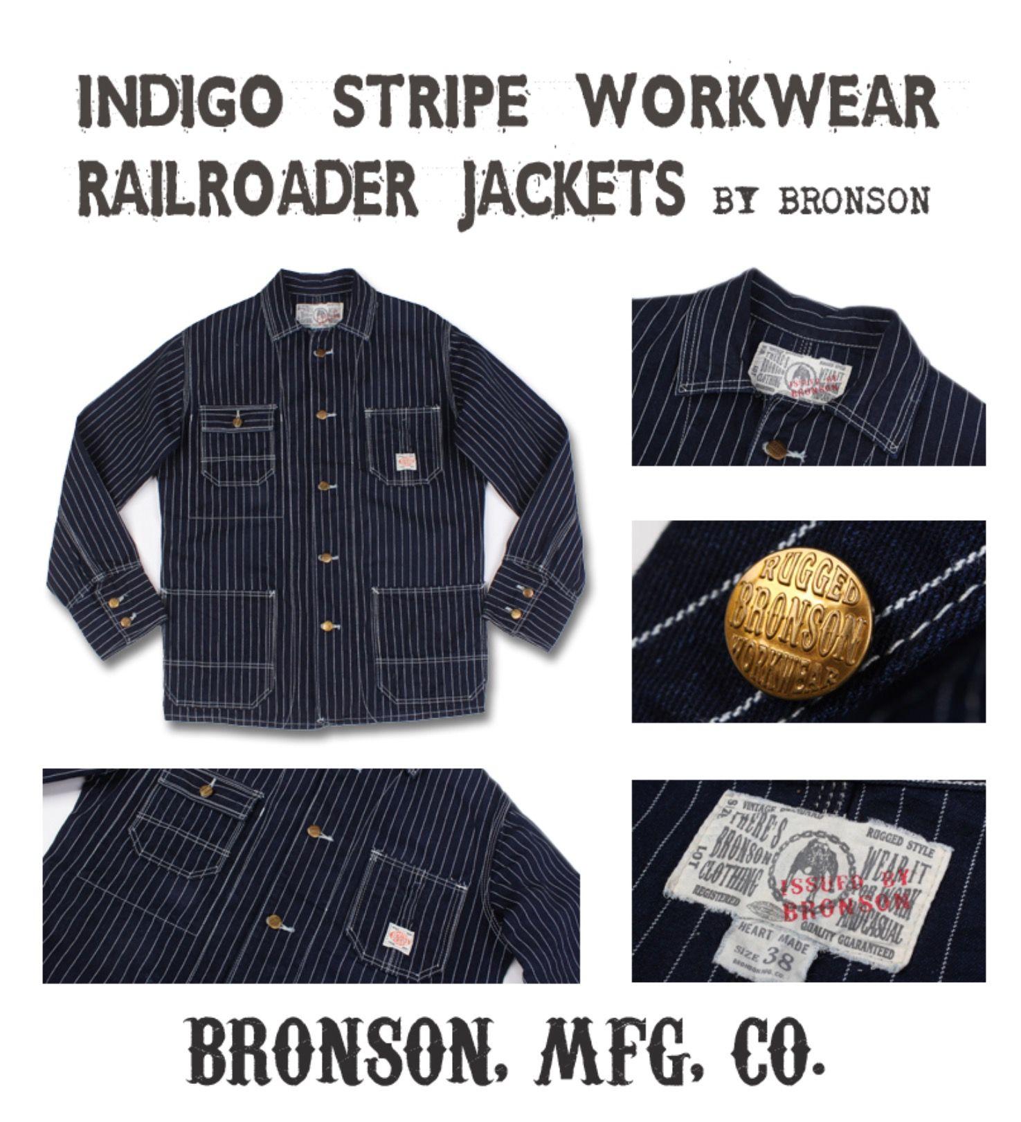 Size L 42R ** Incredible 1930s Railroad Work Chore Denim Jacket