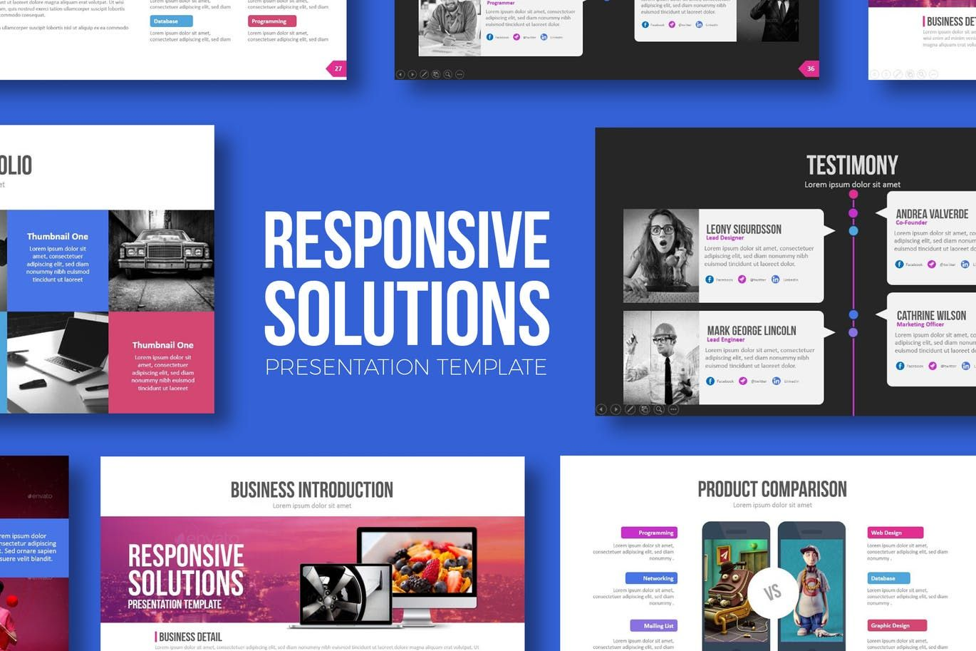 Responsive solutions powerpoint template by brandearth on envato responsive solutions powerpoint template by brandearth on envato elements toneelgroepblik Gallery