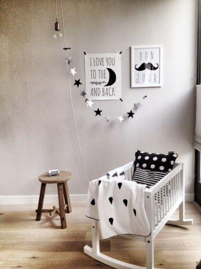 süßes babyzimmer im skandinavischen stil! so schön! | baby, Schlafzimmer
