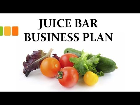 Juice Bar   Smoothie Shop Business Plan Template u2013 Business Plan - bar business plan